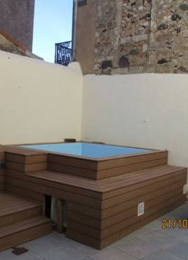 Above ground pool in Marseillan