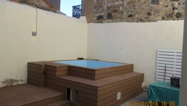 Above ground pool in Marseillan